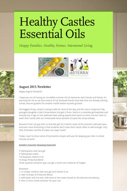 Healthy Castles Essential Oils