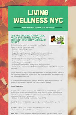 Living Wellness NYC