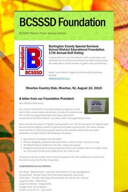 BCSSSD Foundation