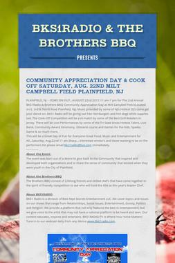 BKS1RADIO & The Brothers BBQ