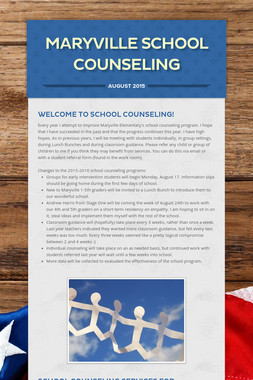 Maryville School Counseling