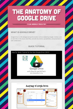 The Anatomy of Google Drive