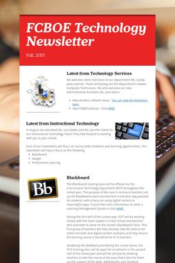 FCBOE Technology Newsletter
