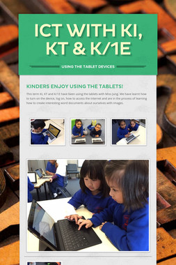 ICT with KI, KT & K/1E