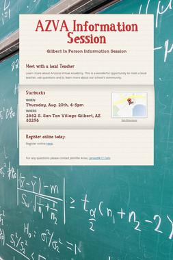AZVA Information Session