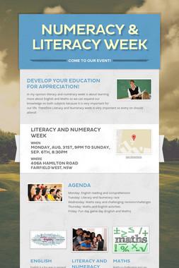 Numeracy & Literacy Week