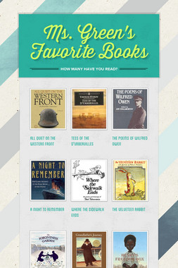 Ms. Green's Favorite Books