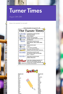 Turner Times