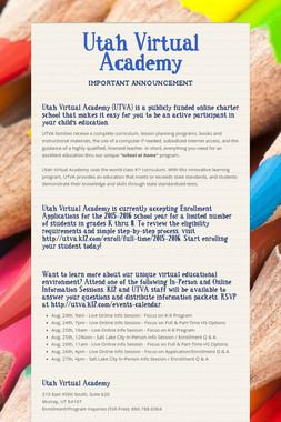 Utah Virtual Academy