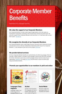 Corporate Member Benefits
