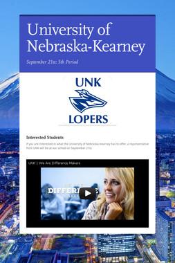 University of Nebraska-Kearney