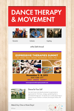 DANCE THERAPY & MOVEMENT