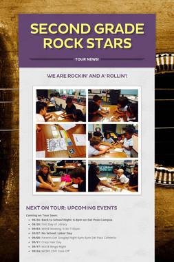 Second Grade Rock Stars