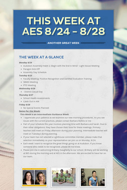 This Week at AES 8/24 - 8/28