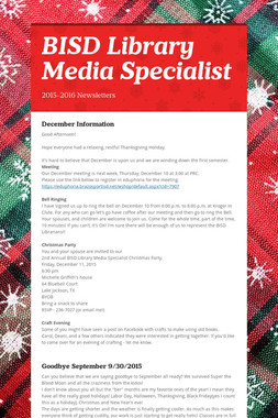 BISD Library Media Specialist