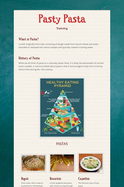 Pasty Pasta