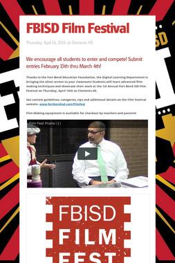 FBISD Film Festival