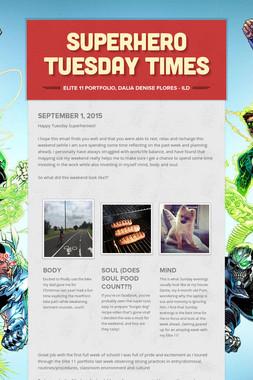 Superhero Tuesday Times