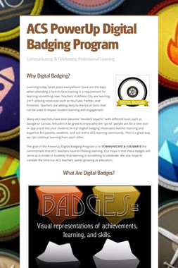 ACS PowerUp Digital Badging Program