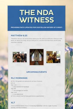 The NDA Witness