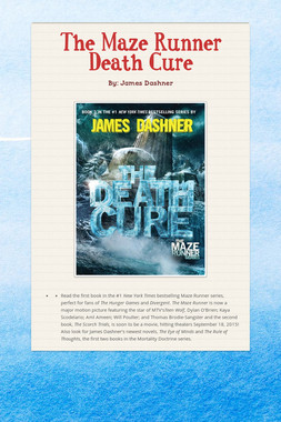 The Maze Runner Death Cure