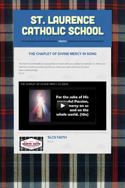 ST. LAURENCE CATHOLIC SCHOOL