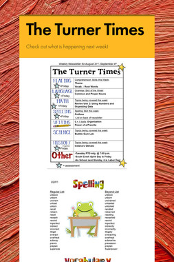 The Turner Times