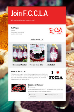Join F.C.C.L.A