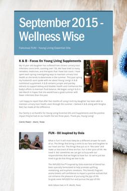September 2015 - Wellness Wise