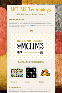 MCLIMS Technology