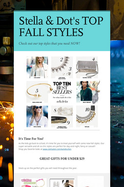 Stella & Dot's TOP FALL STYLES