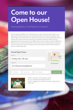 Come to our Open House!