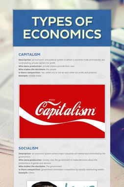 Types of Economics