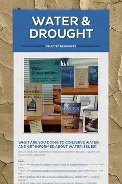 Water & Drought
