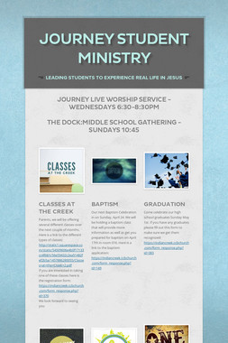 JOURNEY STUDENT MINISTRY