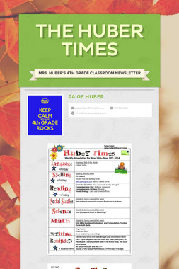 The Huber Times