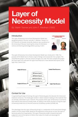 Layer of Necessity Model