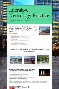 Lucrative Neurology Practice