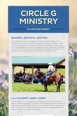 CIRCLE G MINISTRY