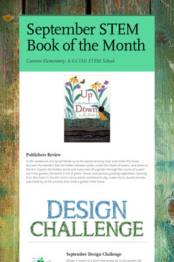 September STEM Book of the Month