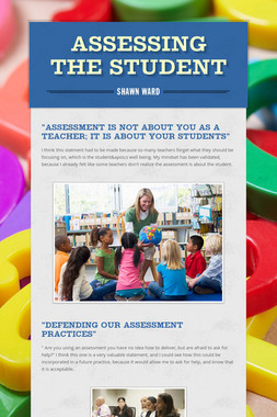 ASSESSING THE STUDENT