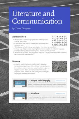 Literature and Communication