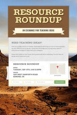 Resource Roundup