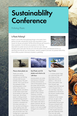 Sustainablilty Conference