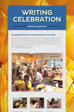Writing Celebration