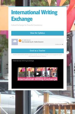 International Writing Exchange