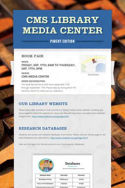 CMS Library Media Center