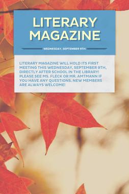 Literary Magazine