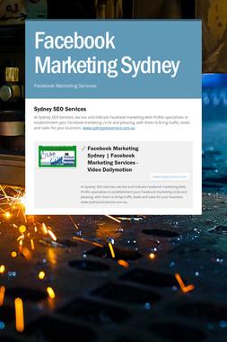 Facebook Marketing Sydney