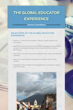 The Global Educator Experience